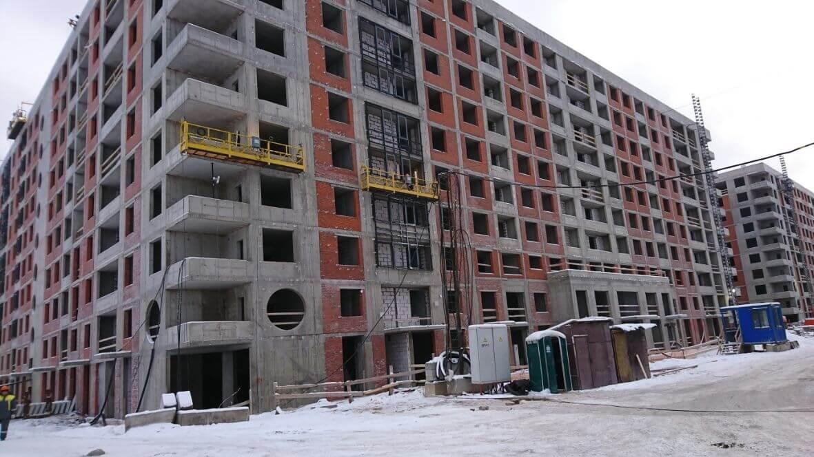 Качественный ремонт вентилируемых фасадов зданий в СПб