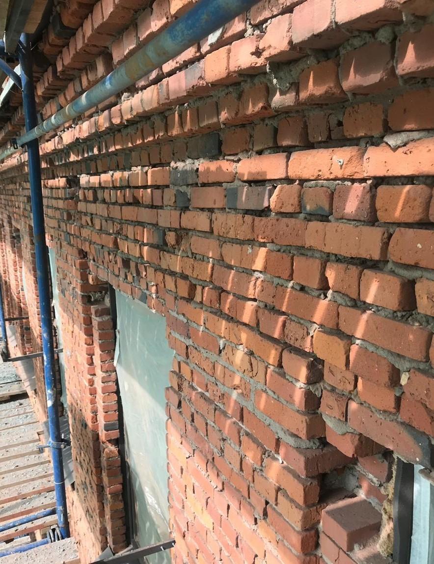 Капитального ремонт фасада на Заставской 33 в Питере