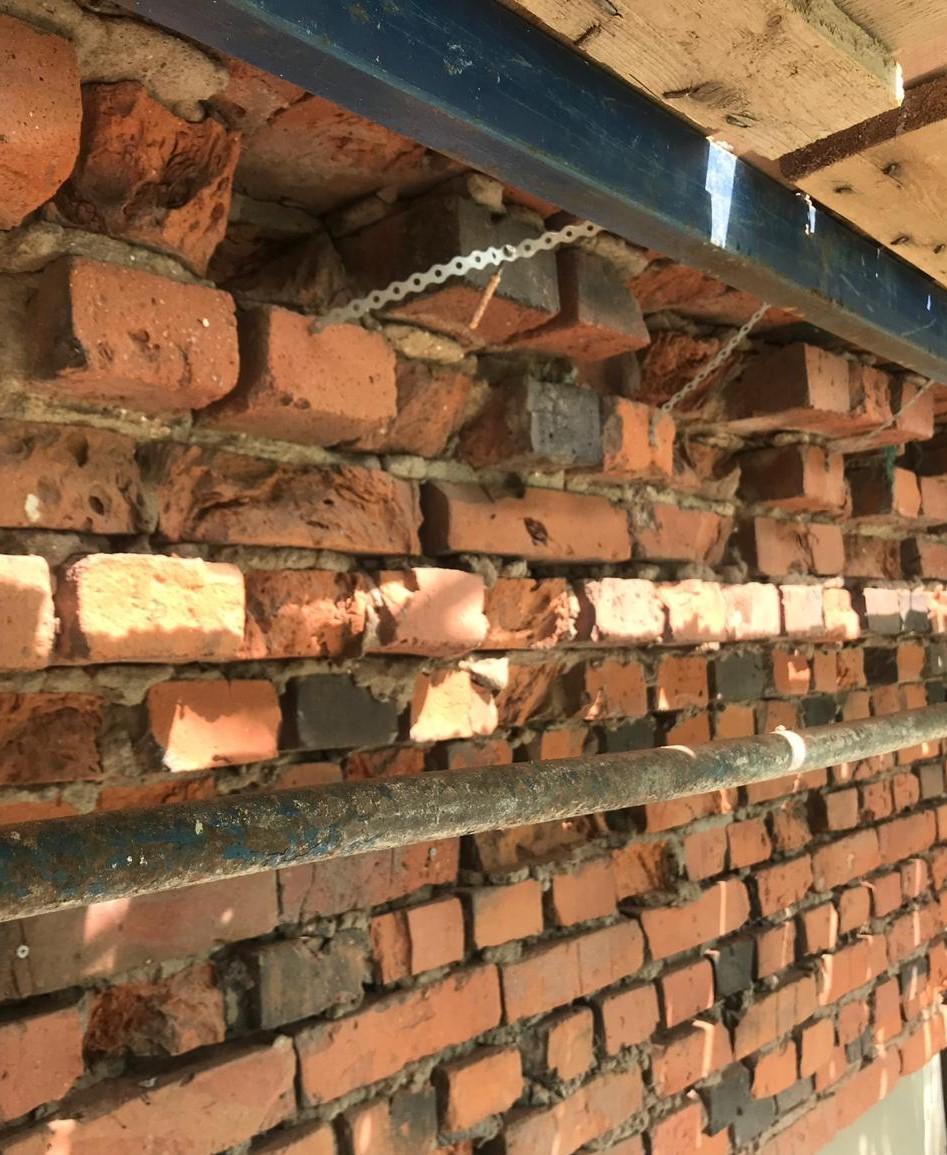 Капитальный, качественный ремонт фасада кирпичного на Заставской 33 в Санкт-Петербурге