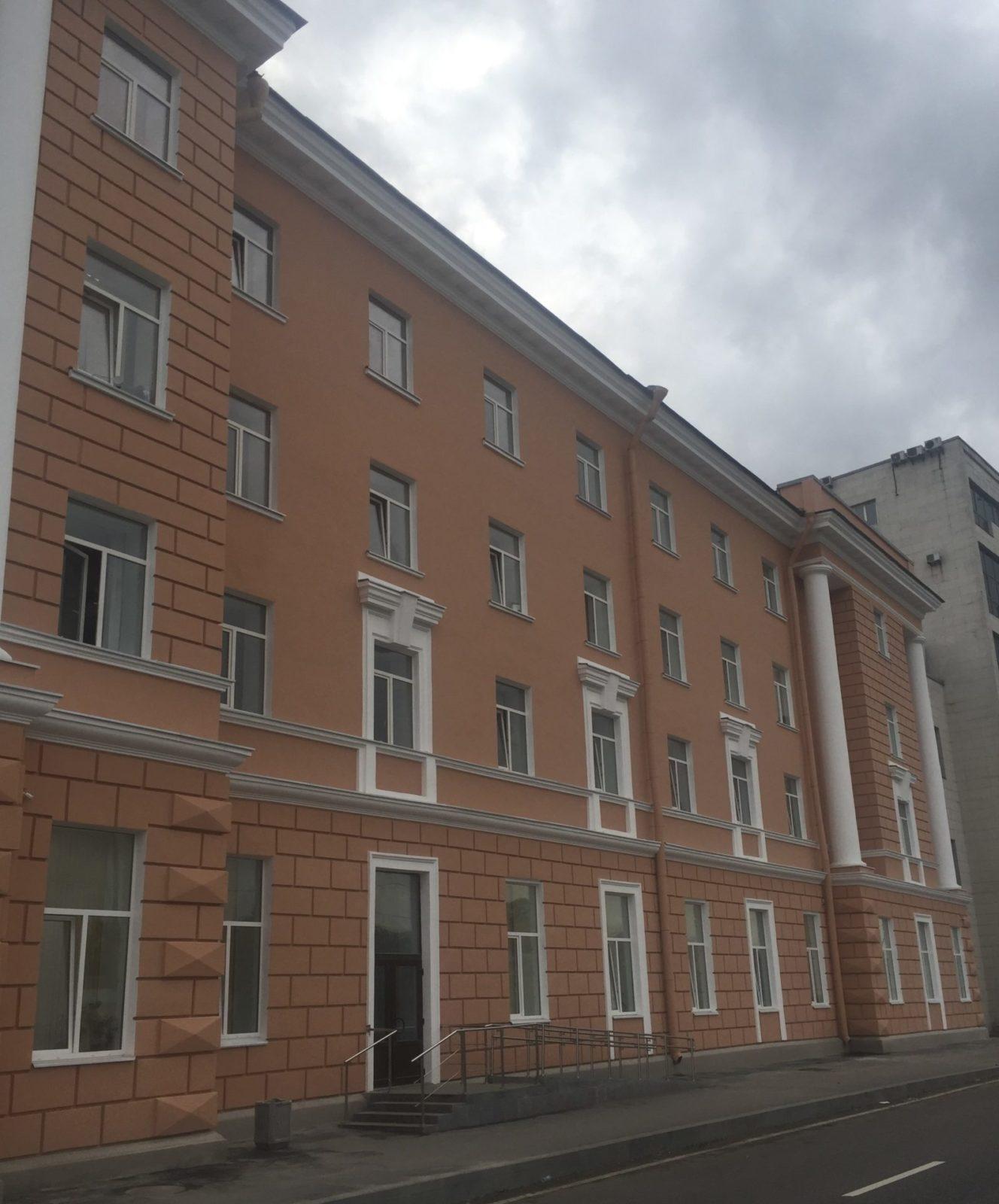 Капитальный ремонт фасада в короткие сроки на ул. Набережная Обводного канала, д.14 в Питере