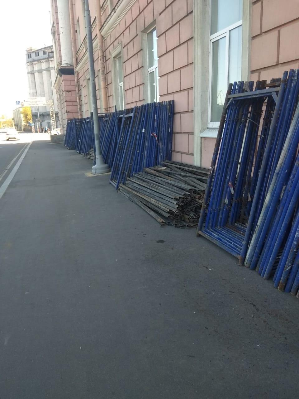 Капитальный ремонт фасада здания на ул. Набережная Обводного канала, д.14 в СПб