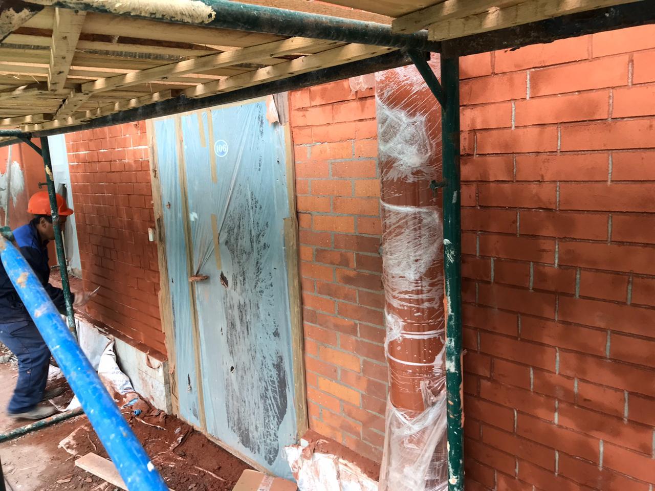 Комплекс ремонтных фасадных работ в Питере