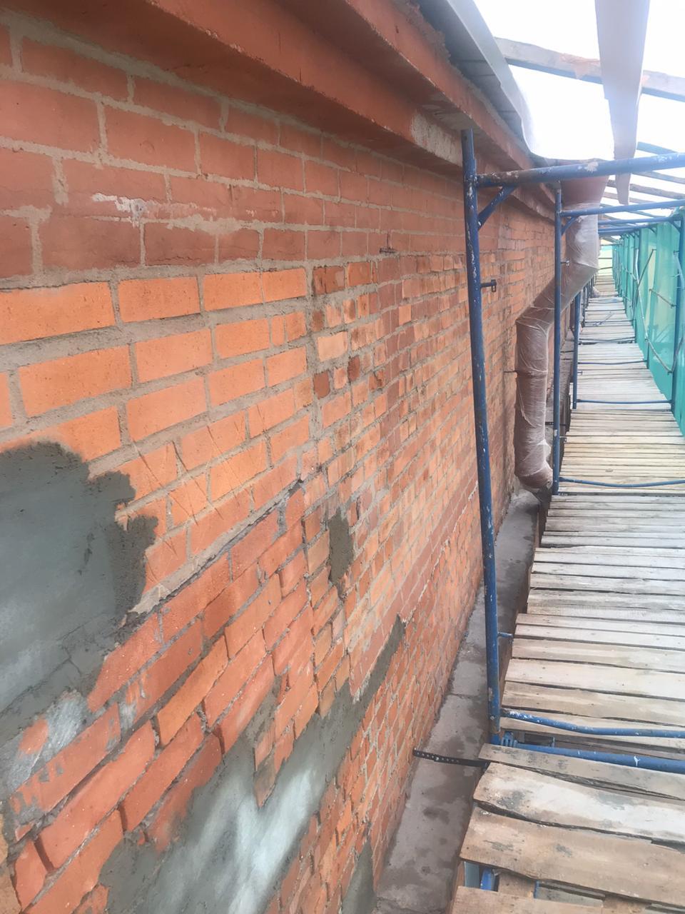 Комплекс ремонтных фасадных работ в Санкт-Петербурге