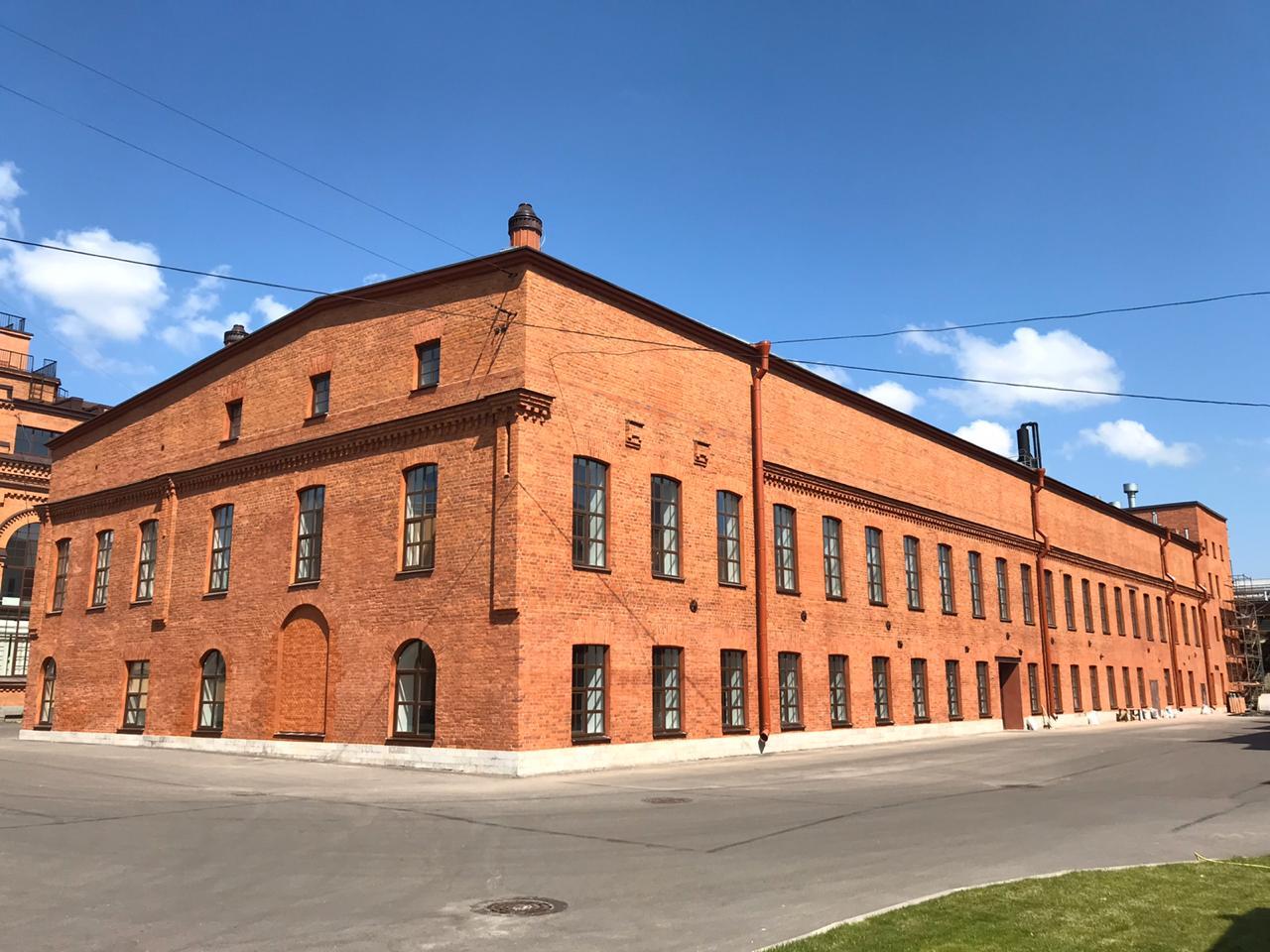 Комплексный ремонт фасада в Санкт-Петербурге для АО