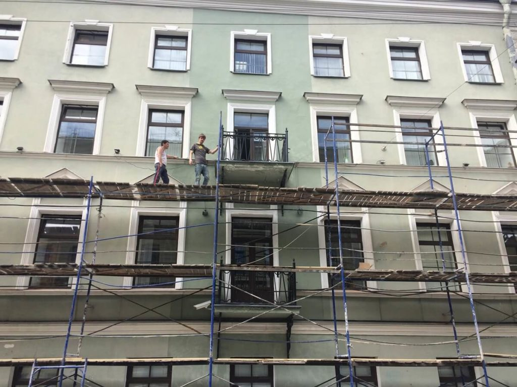 Комплексный ремонт зданий в СПб