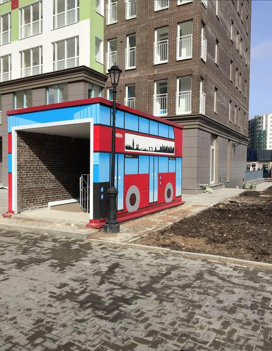 Монтаж навесного вентилируемого фасада в СПб. ЖК Кудрово, для Setl City