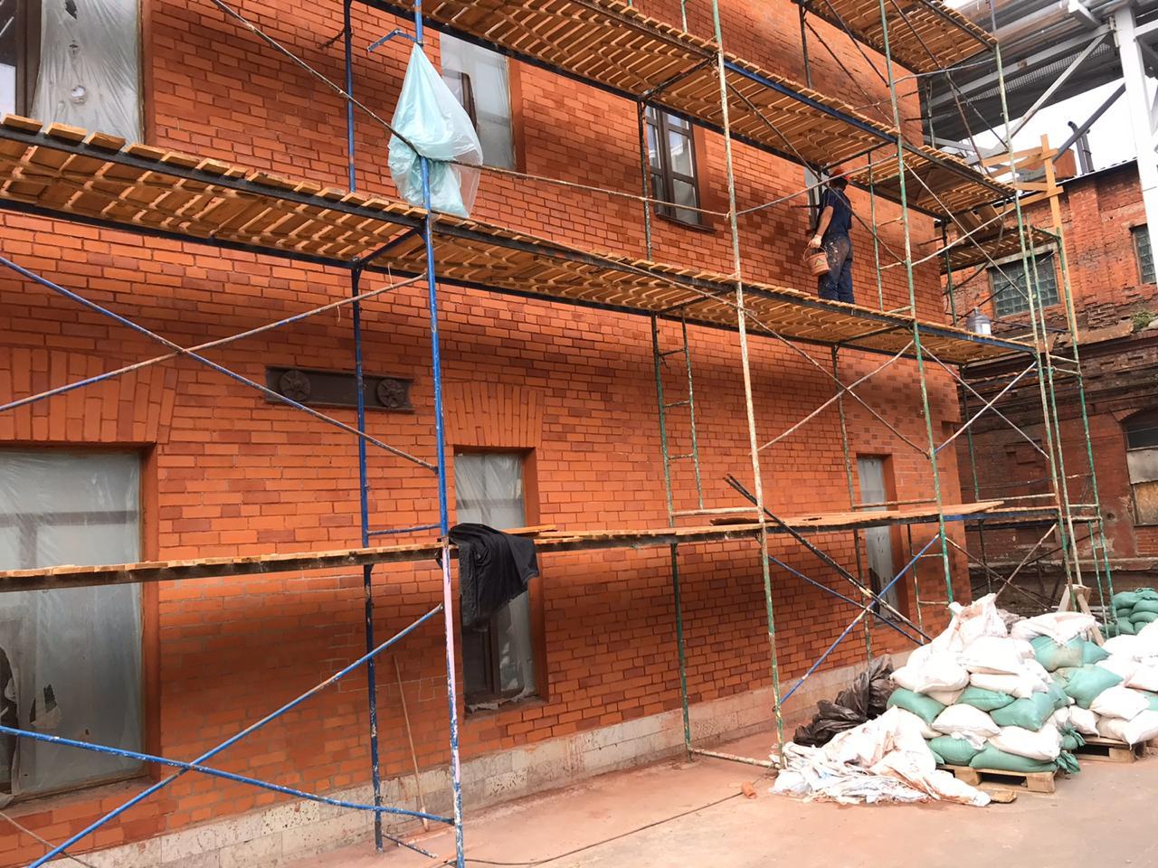 Проведем комплексный ремонт фасада здания в СПб и Лен.области