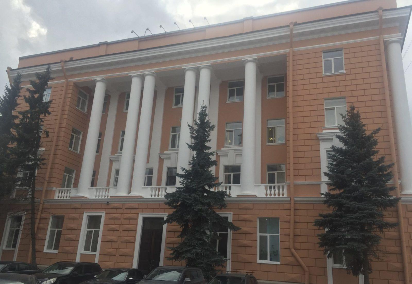 Проведен качественный ремонт фасада на ул. Набережная Обводного канала, д.14 в СПб