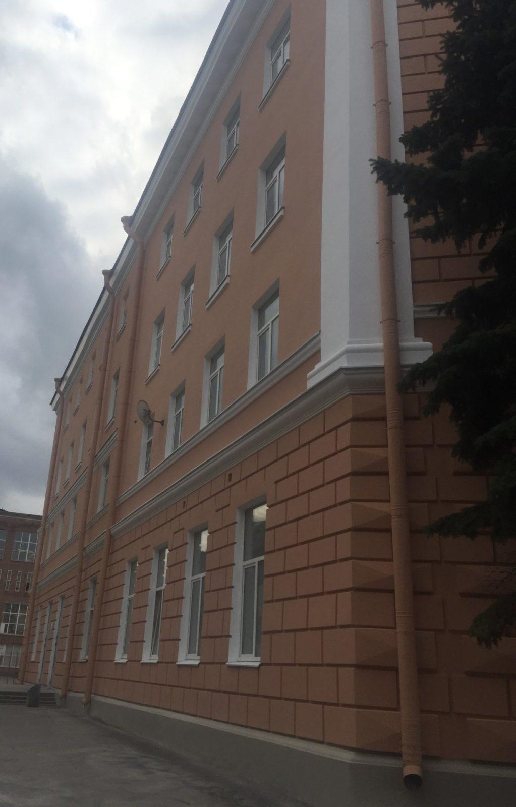 Проведен капитальный ремонт фасада здания на ул. Набережная Обводного канала, д.14 в СПб