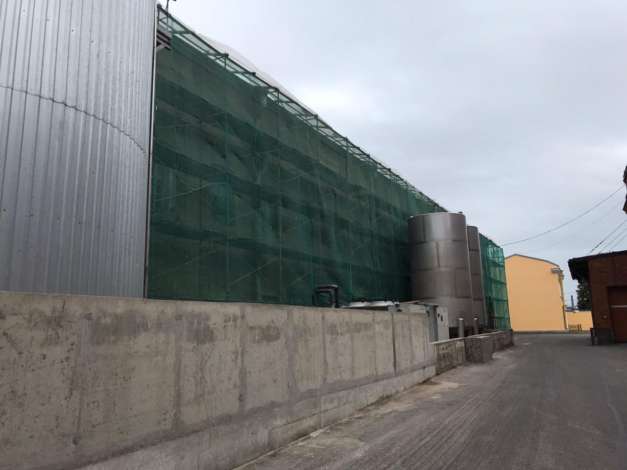 Проведен ремонт фасада для АО Невская Косметика в СПб