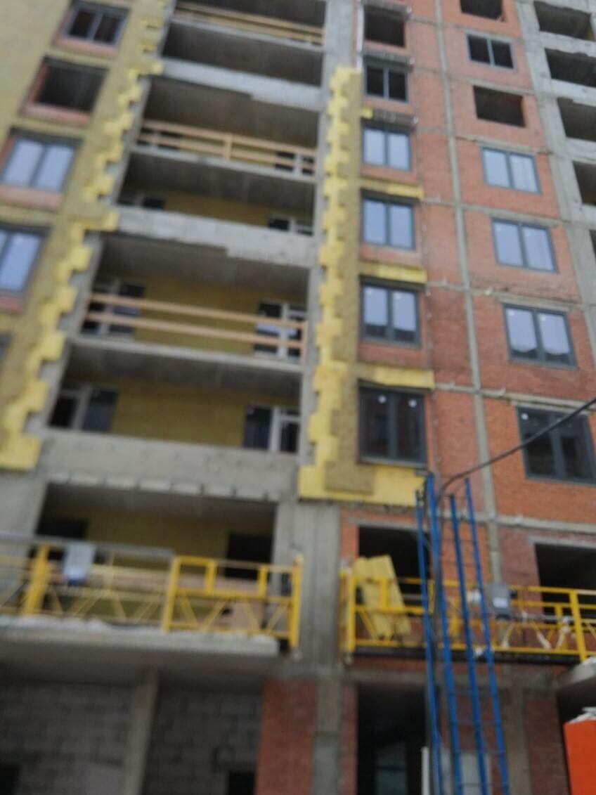 Работы по ремонту вентилируемых фасадов зданий в СПб