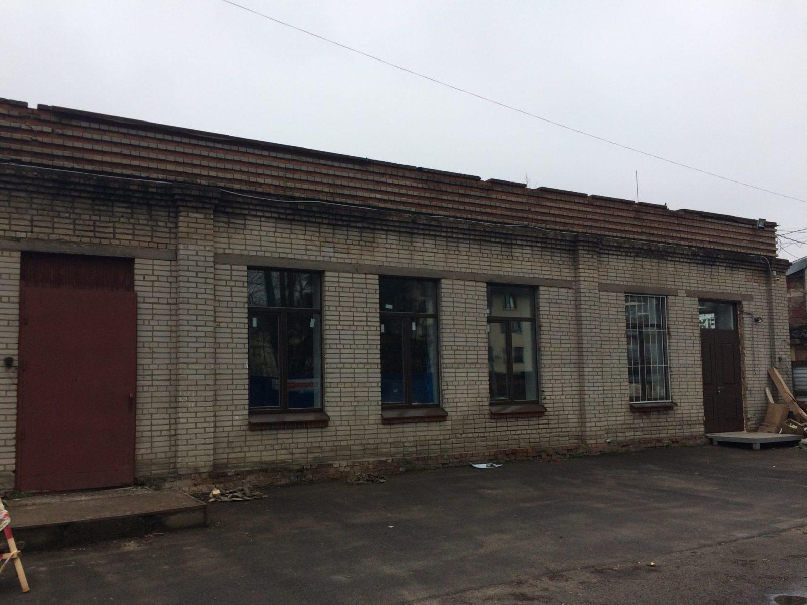 "Ремонт ""мокрого фасада"" для ООО ""Троя"""