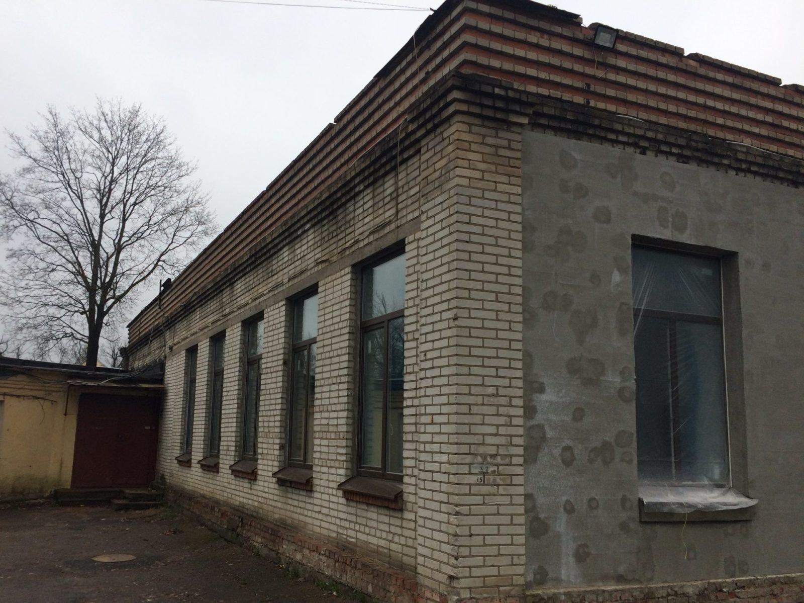 """Ремонт """"мокрого фасада"""" здания для ООО Троя в СПб"""