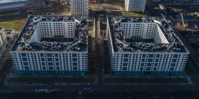 Ремонт и установка вентилируемых фасадов зданий в СПб и Лен.области