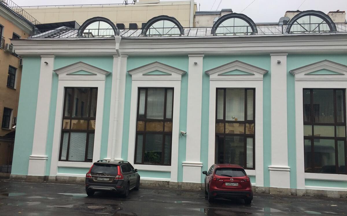 Ремонт штукатурки фасада в СПб