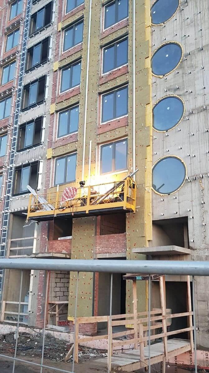 Ремонт вентилируемых фасадов зданий в Санкт-Петербурге