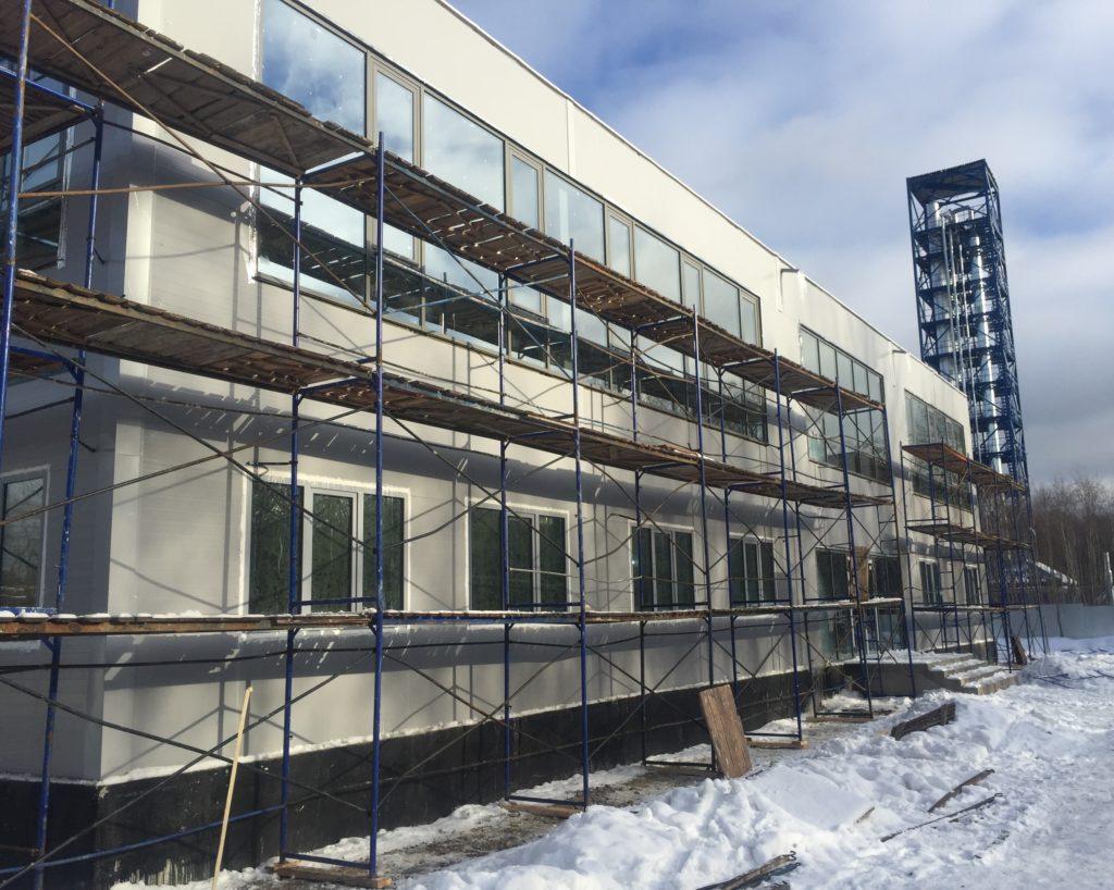 Реставрация фасада здания Спб