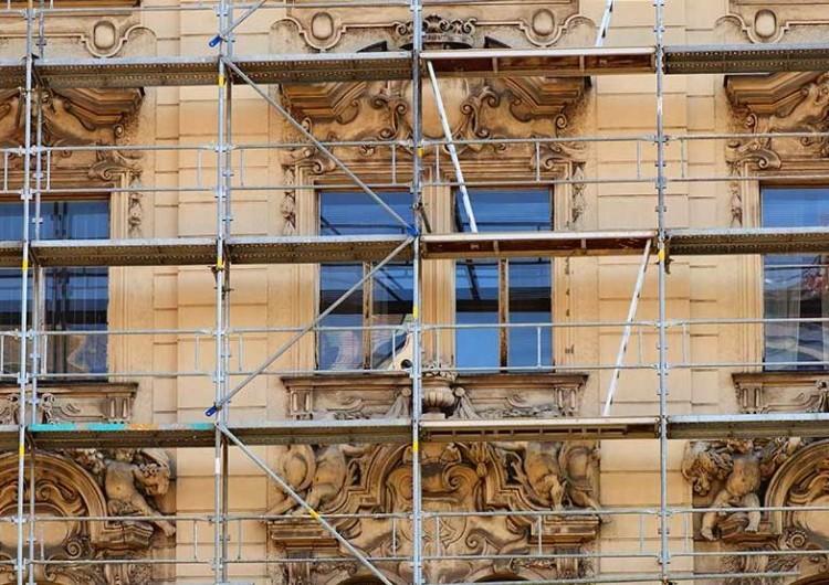 Реставрация фасадов зданий и архитектурных сооружений