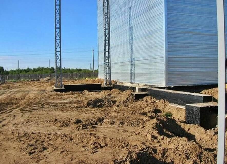 Строительство склада в г. Высоцк