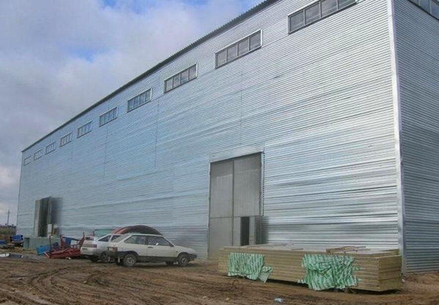 Строительство склада ангарного типа в г. Высоцк качественно