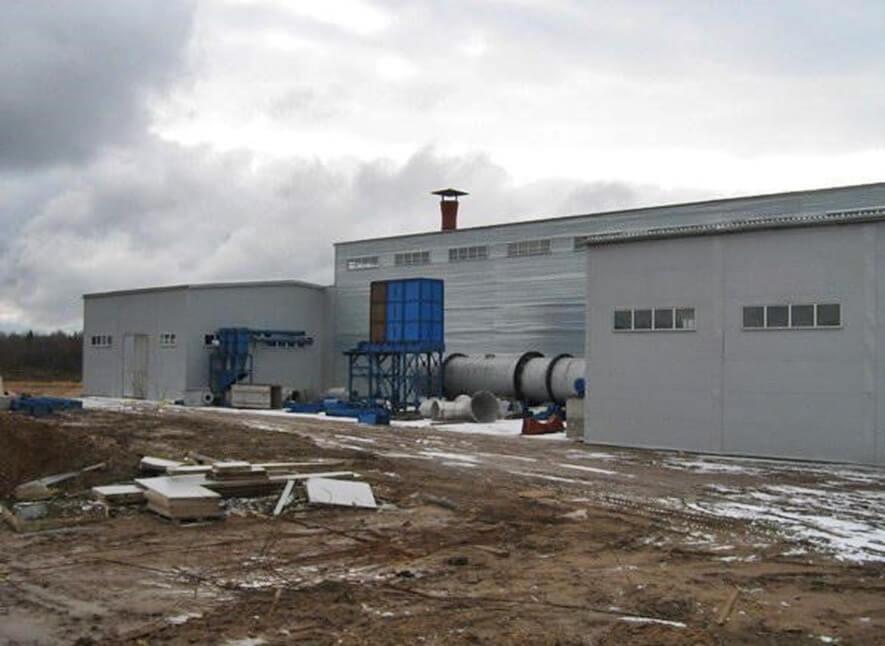 Строительство склада ангарного типа в г. Высоцк