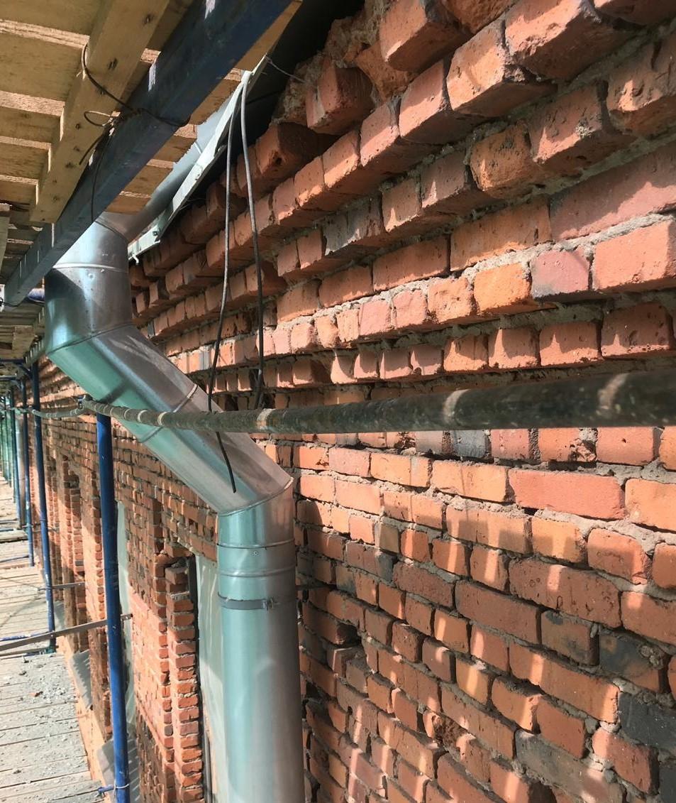 Стоимость капитального ремонта фасада на Заставской 33 в СПб