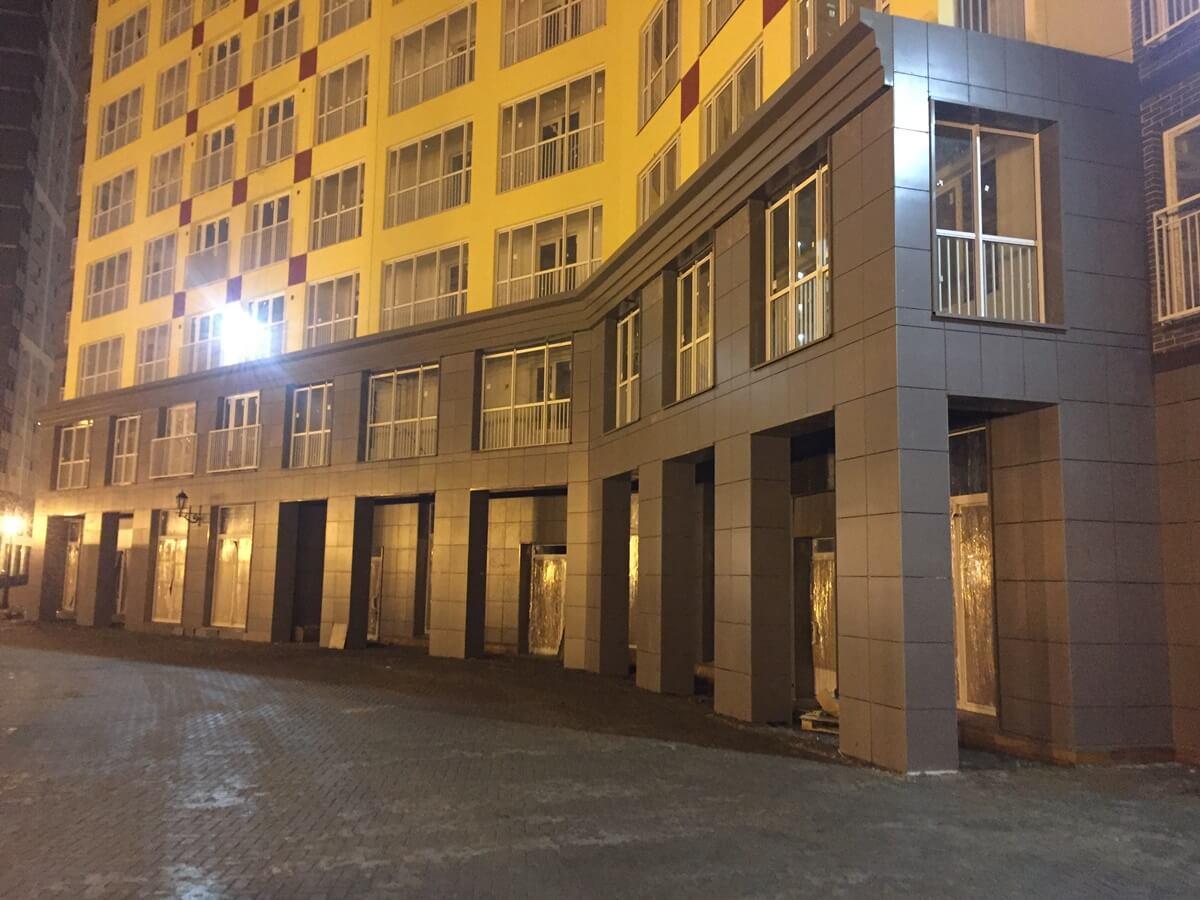 Стоимость работ по монтажу навесного вентилируемого фасада для ЖК Кудрово. СПб