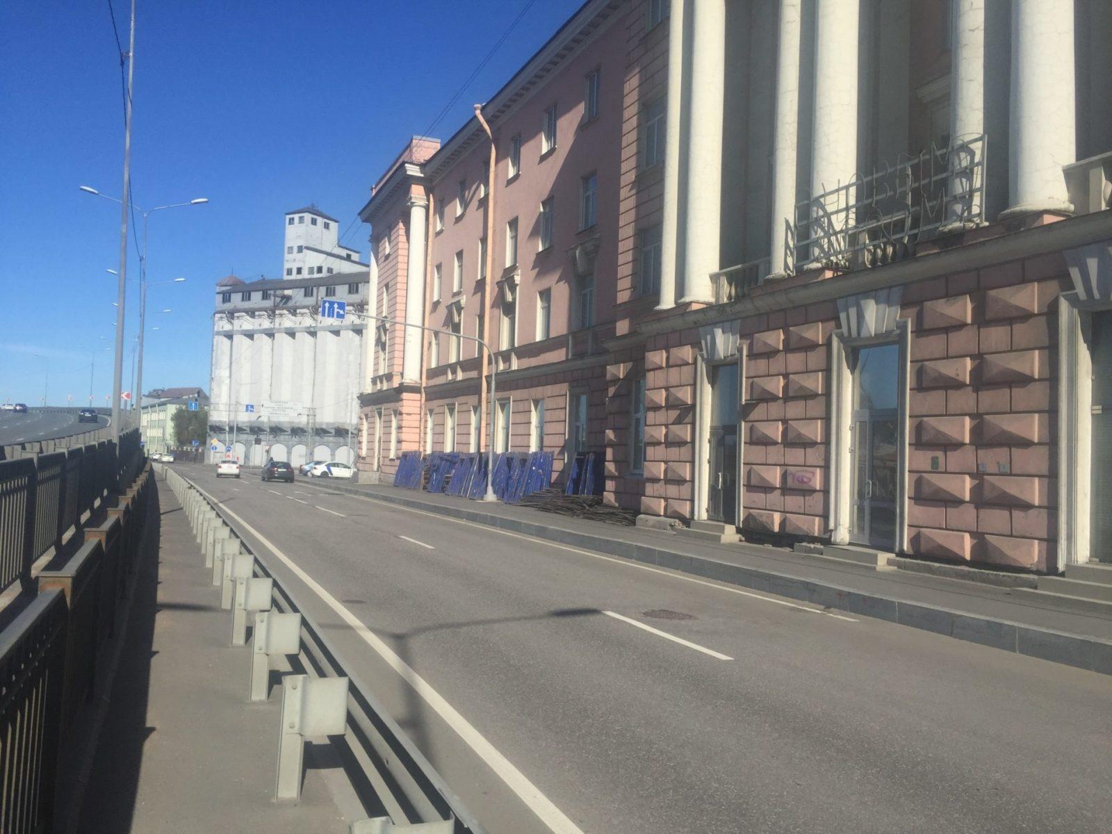 Стоимость ремонта фасада здания на ул. Набережная Обводного канала, д.14 в Санкт-Петербурге
