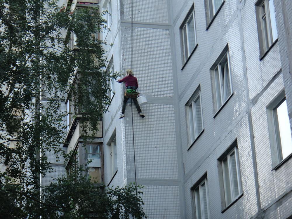 Утепления швов панельных домов Санкт-Петербург