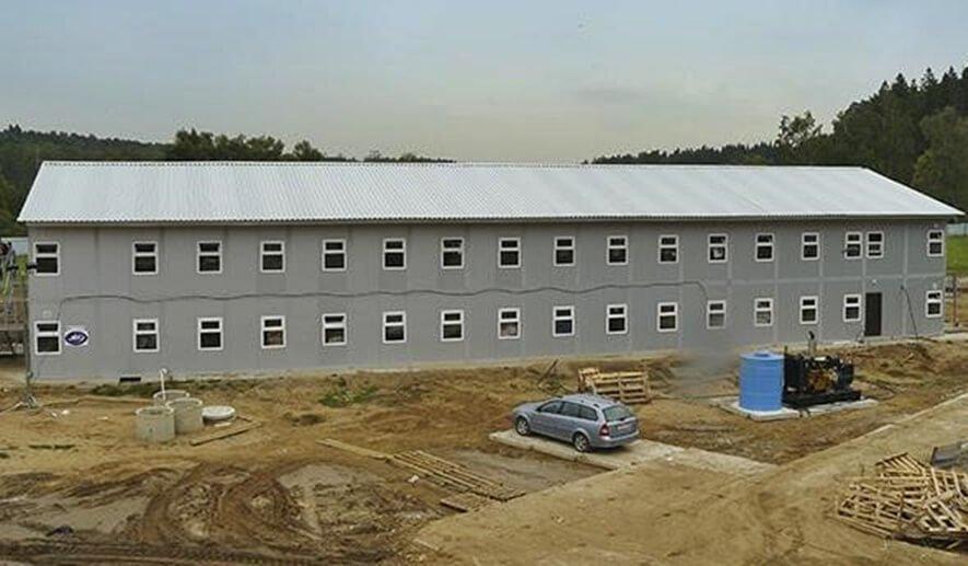 Строительство общежития на 400 человек