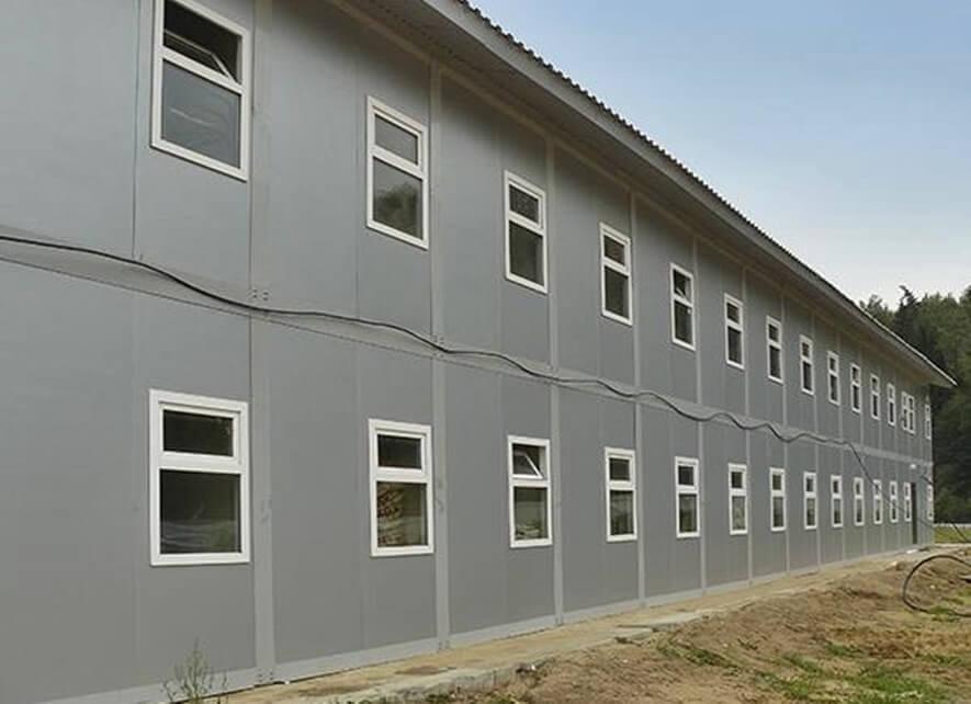 Строительство административно-бытового корпуса