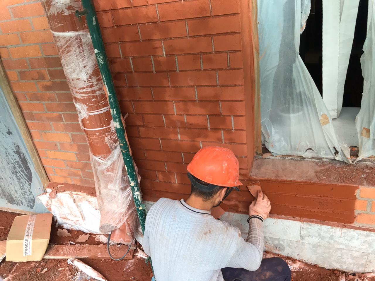 """Цена ремонта фасада здания для АО """"Невская Косметика"""" в Санкт-Петербурге"""