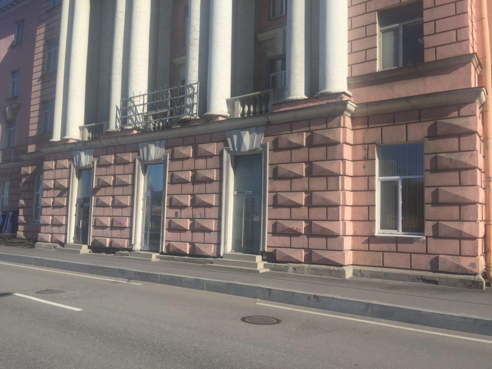 Цена ремонта фасада здания на ул. Набережная Обводного канала, д.14 в Санкт-Петербурге