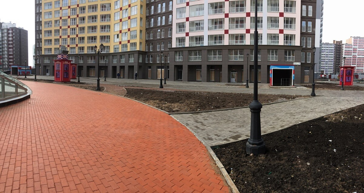 Цены на работы по монтажу навесного вентилируемого фасада для ЖК Кудрово. Санкт-Петербурге