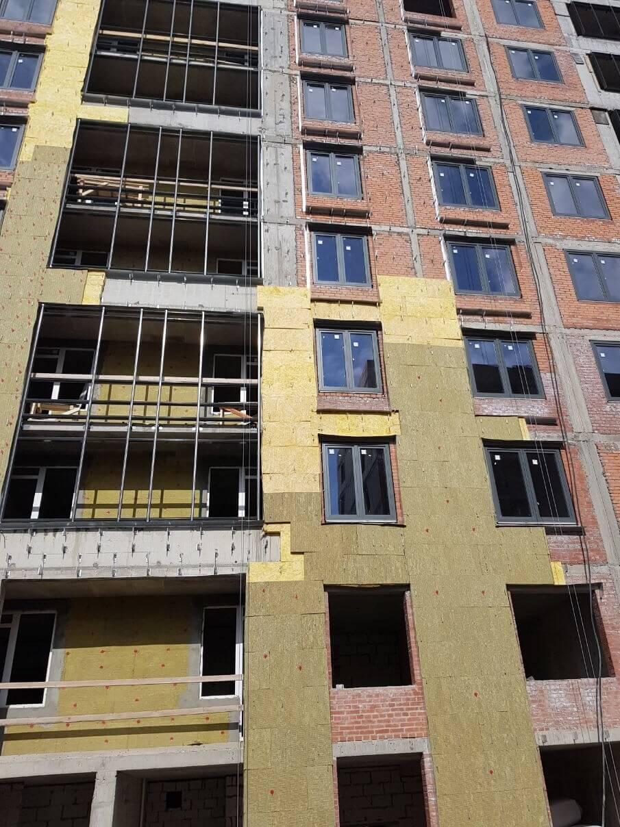 Цены по ремонту вентилируемых фасадов зданий в СПб