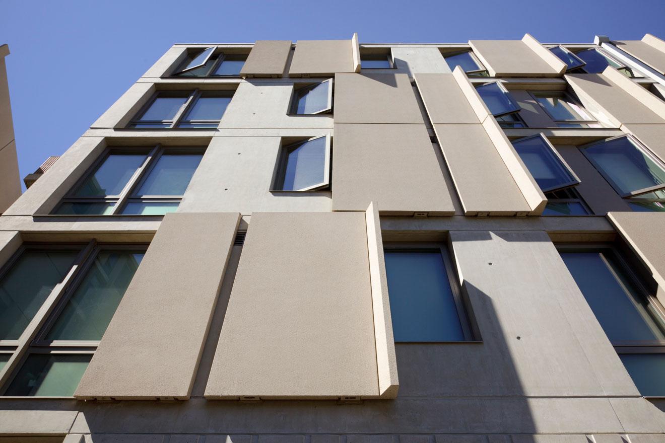 Бетонные фасады