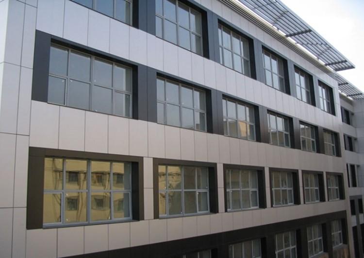 Облицовка фасада под ключ металлокассетами