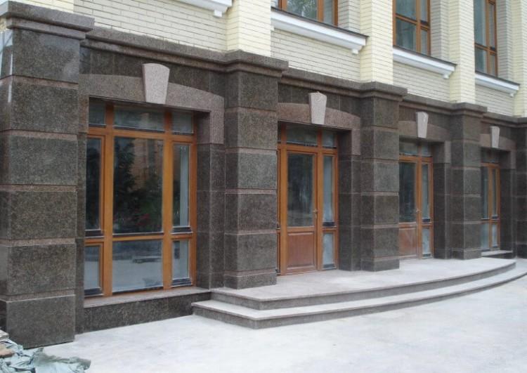 Облицовка, монтаж и отделка фасада