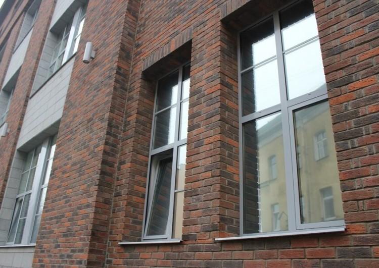Отделка фасада клинкерной плиткой в Санкт-Петербурге