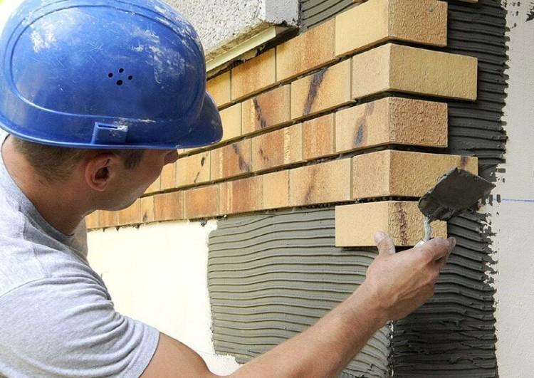 услуги по отделке фасада клинкерной плиткой