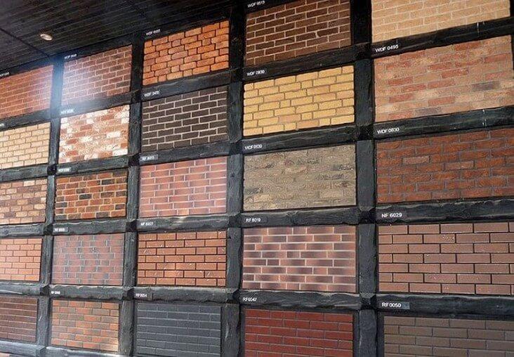 качественная отделка фасада клинкерной плиткой