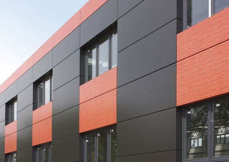 Монтаж композитного вентилируемого фасада из алюминиевых панелей