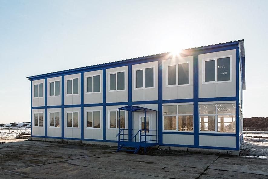 Быстровозводимые модульные здания на основе блок-контейнеров