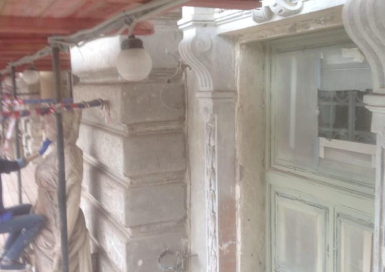 Реставрация фасадов архитектурных сооружений под ключ
