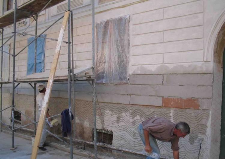 оштукатуривание фасадов домов под ключ