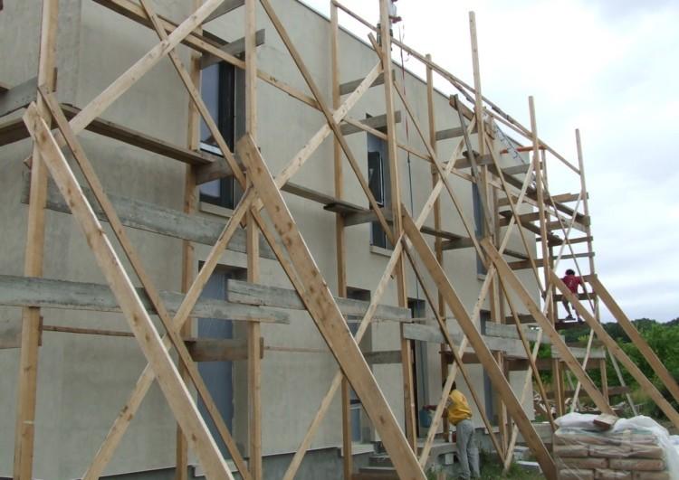 оштукатуривание фасадов зданий Спб